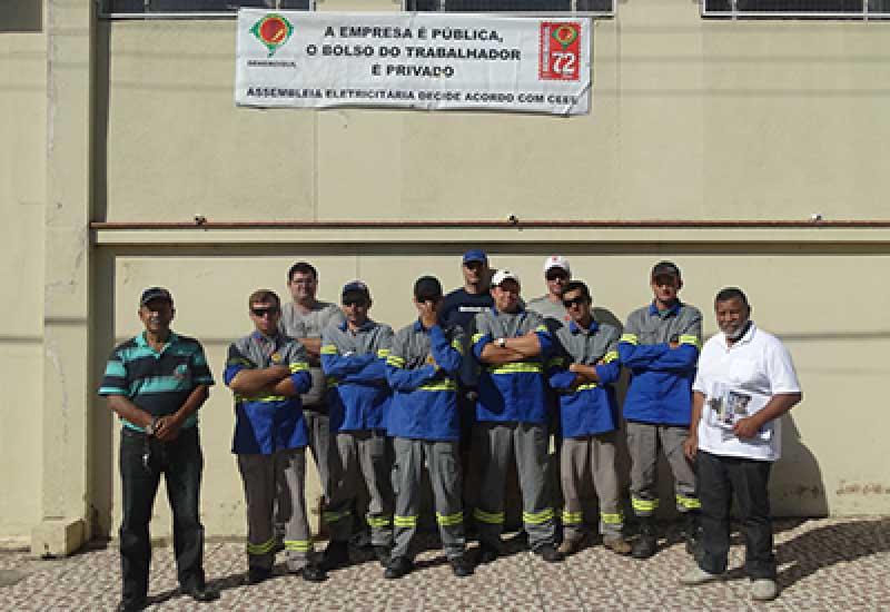 Photo of Dom Pedrito – Funcionários da CEEE fazem nova paralisação