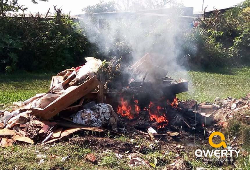 Photo of Reportagem da Qwerty flagra momento em que caixões são queimados no Cemitério Municipal