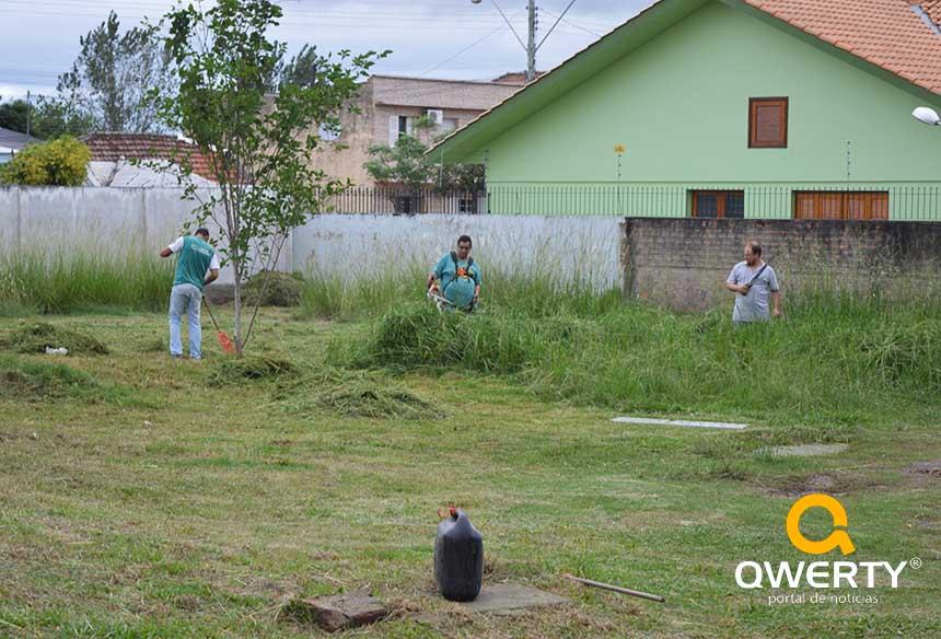 Photo of Consepro contrata serviço de limpeza para o pátio da Delegacia de Polícia