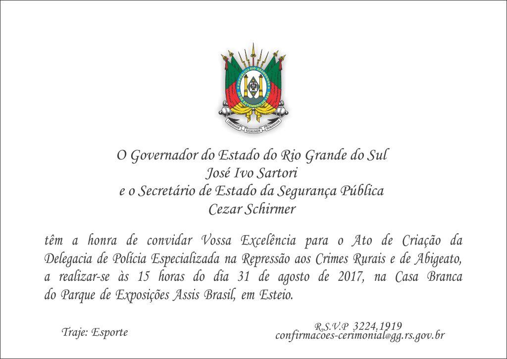 Photo of Delegacia Especializada em repressão aos Crimes Rurais e de Abigeato já tem dia e hora marcada para ser criada