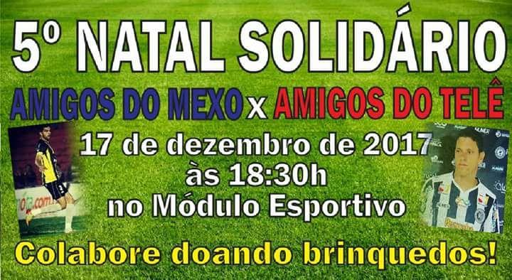 Photo of Vem aí mais uma edição do Natal Solidário; Amigos do Mexo x Amigos do Telê