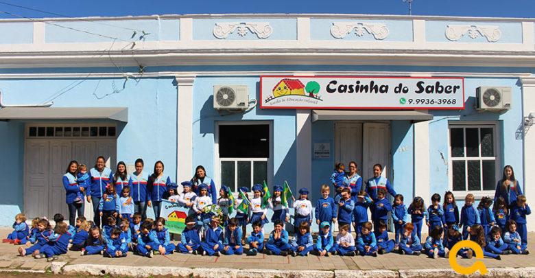 Photo of Escolinha Casinha do Saber realiza Hora Cívica 2018