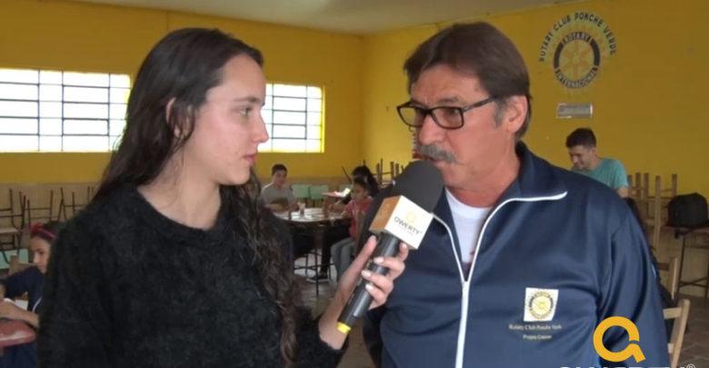 Photo of Rotary Clube Ponche Verde realiza projeto com crianças do bairro Dr. José Tude de Godoy