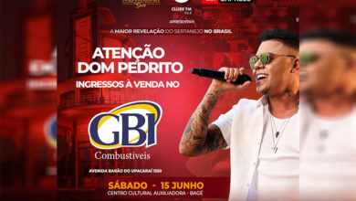 Photo of La Gitana e Bah Entretenimento trazem para Bagé Felipe Araújo