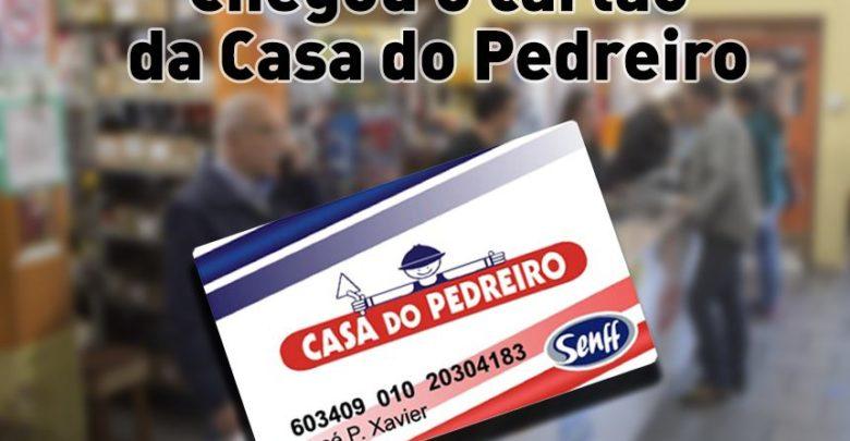 Photo of Casa do Pedreiro lança cartão de crédito