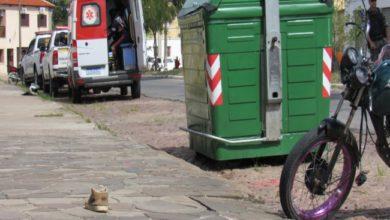 Photo of Após fugir da BM homem colide moto em grade e tenta fugir a pé em Bagé