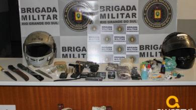 Photo of Oito pessoas são detidas em ação da Brigada Militar