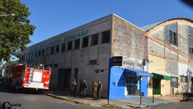Photo of Ginásio Ervilhão recebe limpeza para virar hospital de campanha em Rosário do Sul