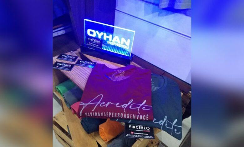 Photo of Loja Vincenzo participa de campanha da marca Oyhan