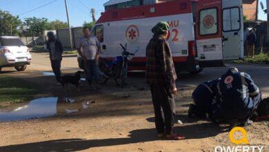 Photo of Acidente na Rua General Neto deixa motociclista ferido