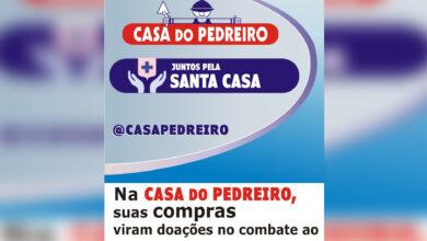 Photo of Casa do Pedreiro promove campanha para ajudar a Santa Casa