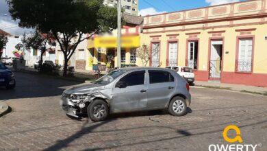 Photo of Acidente no cruzamento entre ruas Júlio de Castilhos e José Bonifácio