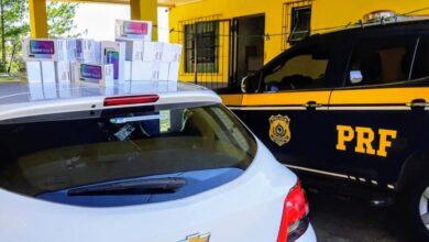 Photo of PRF apreende celulares avaliados em cerca de 200 mil reais em Rosário do Sul