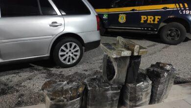 Photo of PRF prende traficantes com mais de 50 quilos de maconha em Bagé