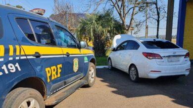 Photo of PRF recupera veículo com registro de apropriação indébita em Santana do Livramento