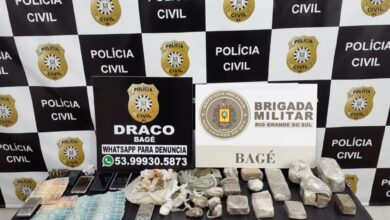 """Photo of Operação policial """"Dominus"""" é deflagrada em Bagé e nove pessoas são presas por tráfico de drogas"""