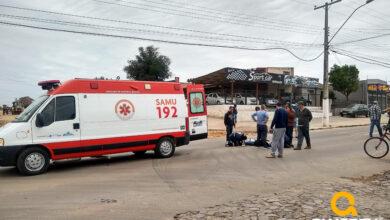 Photo of Acidente de trânsito deixa idosa ferida